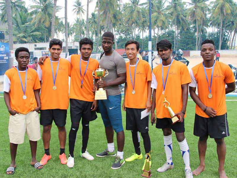 APRANJE ESTATES CORPORATE FOOTBALL TOURNAMENT ORGANIZED BY DENZ FOUNDATION