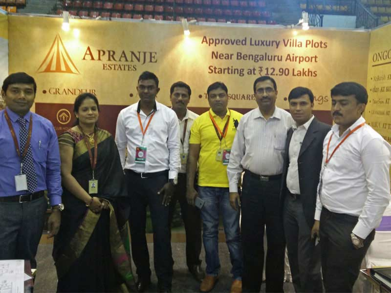 Apranje Estates Hindu Budget Homes Expo